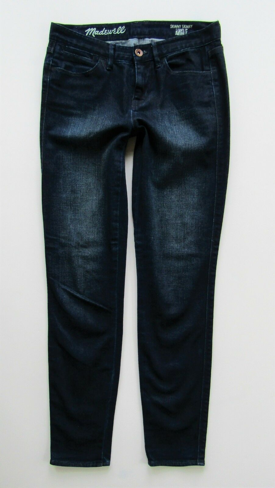 Madewell Mid Rise Skinny Ankle Jean, Dark Wash - Size 24