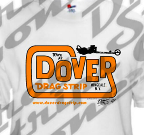 Medium Shirt XL 1969 Dover Logo Drag Strip Drag Race Racing T