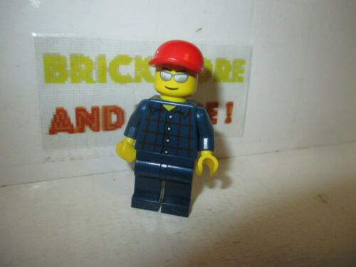 Plaid Button Shirt 3178 cty0163 Minifigures Lego City