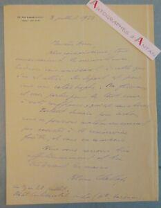 L-A-S-1953-Felicien-CHALLAYE-philosophe-a-Maurice-ROSTAND-Lyon-Lettre-autographe
