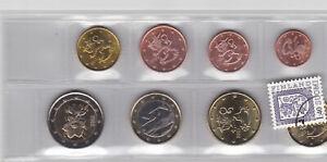 FINLANDE Série Années mixtes - 8 Monnaies 1 cent à  2 Euro (1999 - 2002 - 2012)