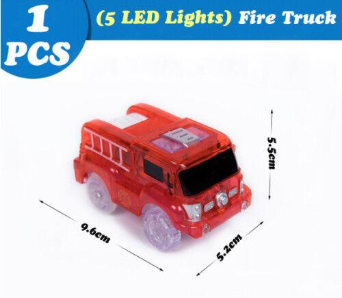 Voiture Lumineuse LED pour Circuit Lumineux Type Magic Track