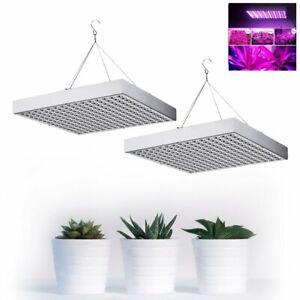 2x 45W LED Pflanzenleuchte Pflanzenlampe Wachstumslampe Pflanzenlicht Grow Lampe