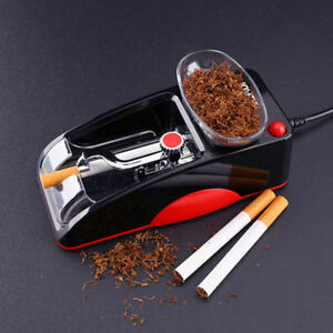 Electric-Automatic-Cigarette-Injector-Rolling-Machine-Tobacco-Maker-Roller-Red