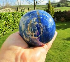 Lapis Lazuli Sphere AAA+ Quality 9cms Dia Exceptional Polished  Afghanistan 958g