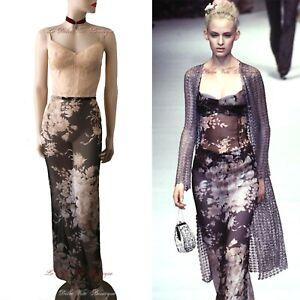 dolce  gabbana vintage 1997 nude floral corset lace dress