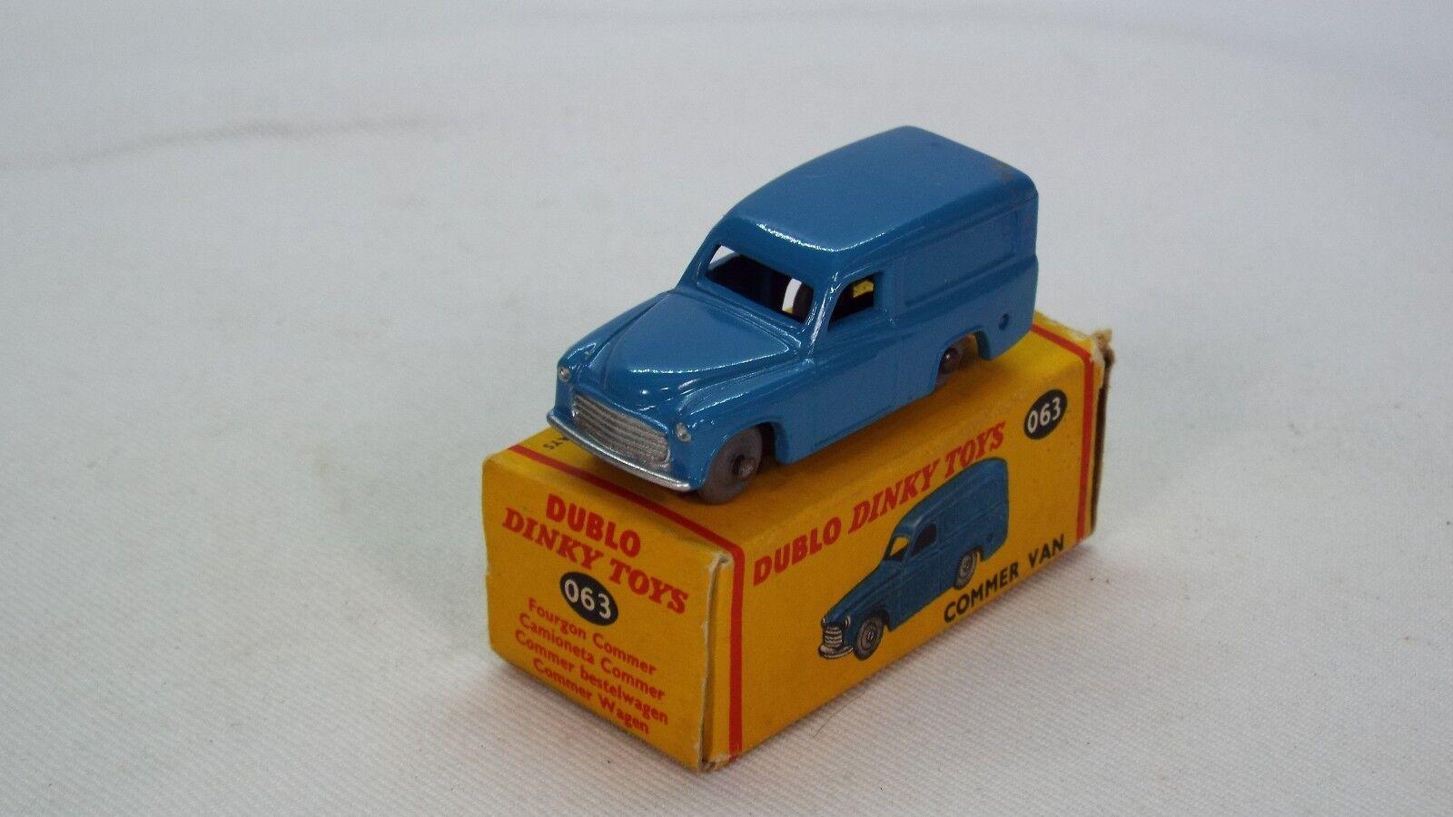 DINKY Dublo N. 063 è il modello del COMMER Van eccellente e inscatolato