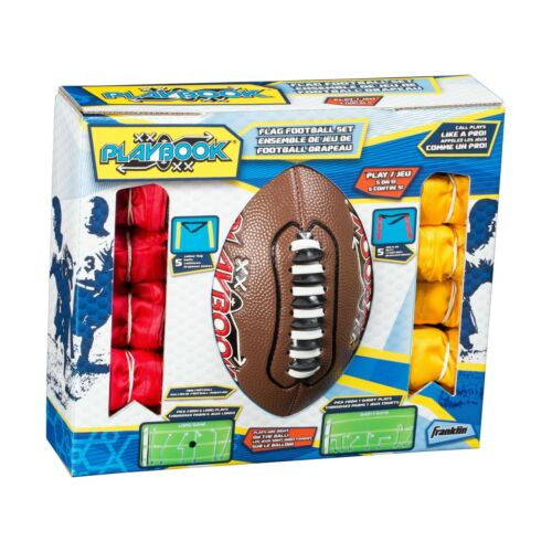 Franklin Sports Mini Playbook Flag Football Set Free Shipping