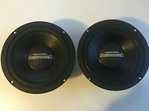 Pair-of-radioshack-8-034-dvc-40-1348-subwoofer