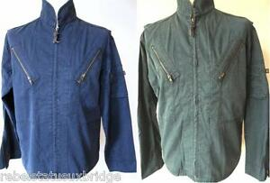 ALPHA Men s Summer Jacket Helicopter Navy and Petrol in sizes Small ... 5d2a5cd97aabf
