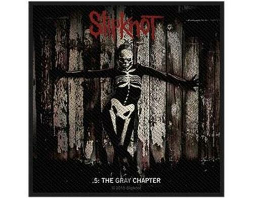 THE GRAY CHAPTER SEW-ON PATCH METAL OFFICIAL LICENSED SLIPKNOT