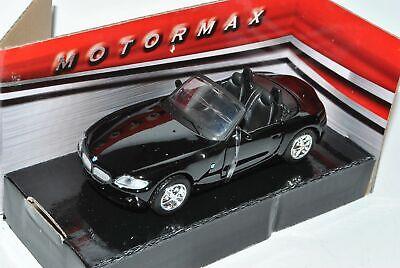 BMW Z4 E85 Cabrio Schwarz Roadster 2002-2008 1//18 Bburago Modell Auto mit oder..