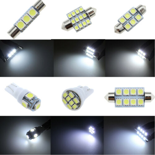 20x White Interior LED Light Bulbs For Chevy Tahoe Suburban GMC Yukon 2000-2014