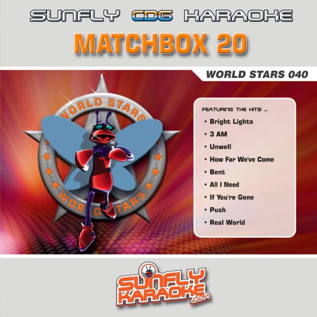 MATCHBOX 20 SUNFLY KARAOKE CD+G