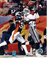 Jerry Rice Oakland Raiders Signed 8x10 Photo Rice Hologram