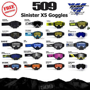 c8c74f32523 Image is loading 509-Sinister-X5-Snowmobile-Goggle