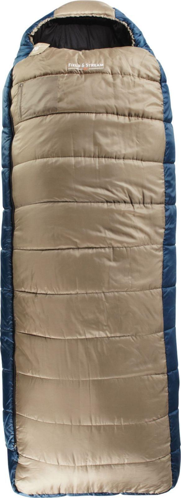 Field and Stream 20 Degree Pathfinder SemiMummy Sleeping Bag  Free Shipping
