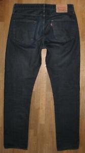 """>>> """" Levi `S 504 """" D'Homme Jeans / Levis En Noir-Bleu Env. W32 """" / L33 """""""