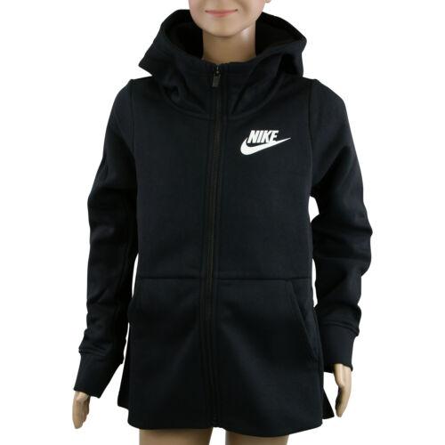 GS FZ Hoodie Kapuzenjacke Schwarz Mädchen Kinder CK3416 010 Nike Sportswear