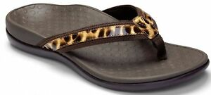 3ff55b157f2e Women Vionic Orthaheel Tide II Bronn Leopard Flip Flop Sandal 100 ...