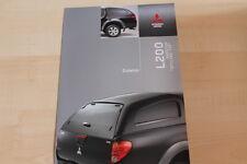 74222) Mitsubishi L 200 Hardtop Prospekt 02/2008
