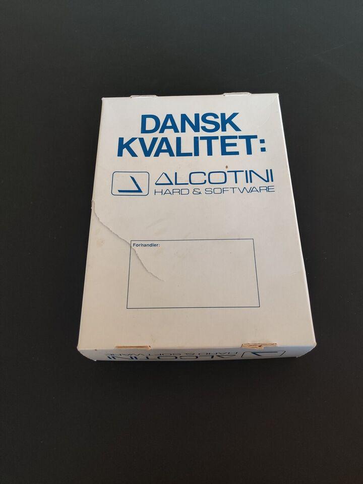 Amiga Alcotini stereo sampler, Amiga