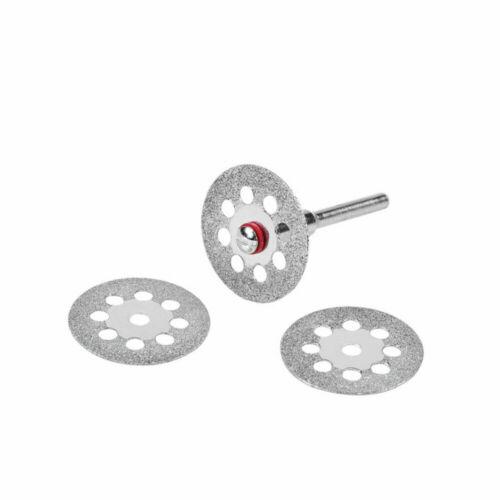 60x Diamant Trennscheibe Kreissägeblätter Trennscheiben Cutter Für Drehwerkzeug