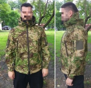 60368d19918 Image is loading Membrane-Softshell-PENCOTT-GREENZONE -Tactical-Camouflage-Mens-Jacket-