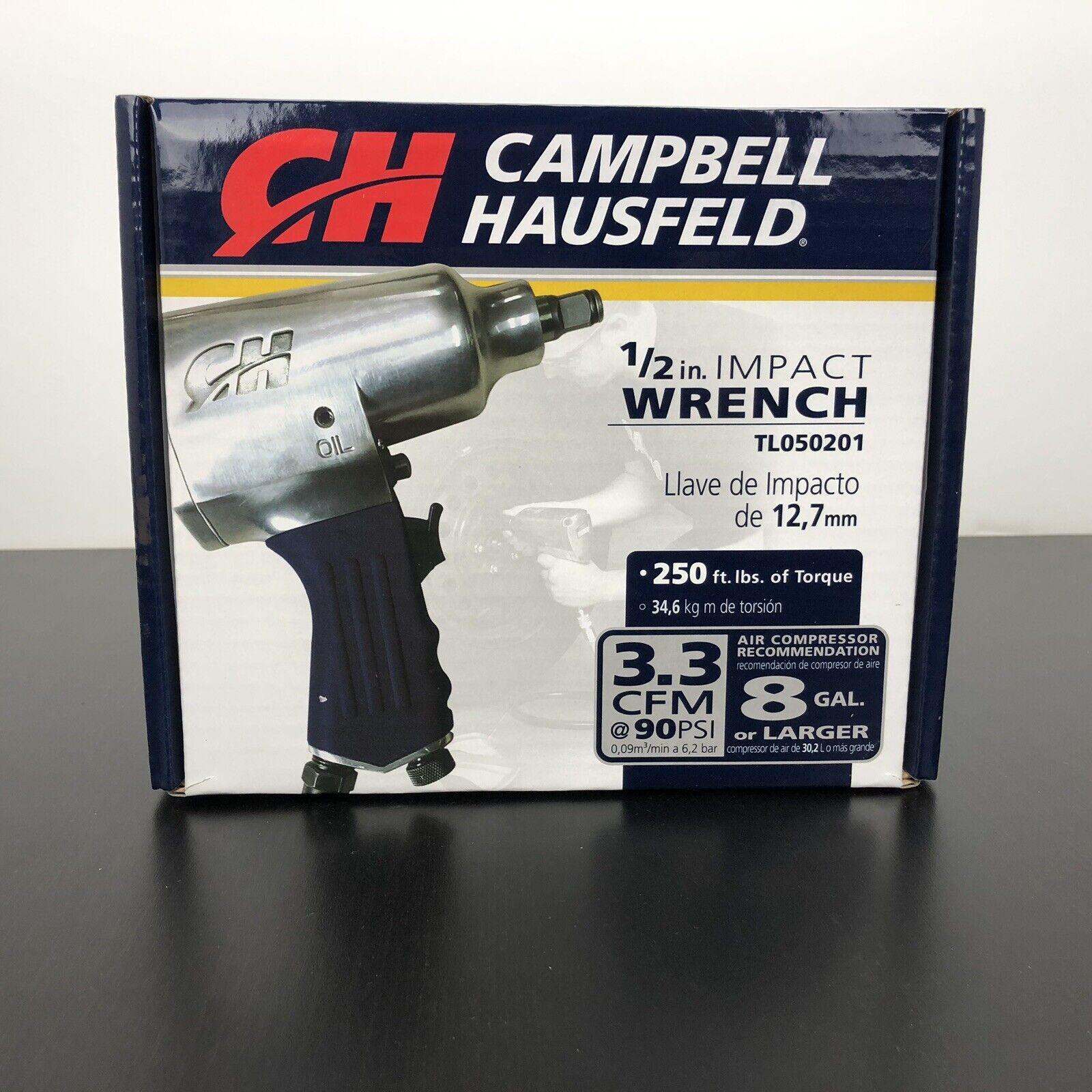 Campbell Hausfeld Air Impact Wrench 1 2  1 4  Npt