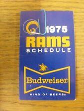 da91308f Los Angeles Rams 2017 NFL Football Schedule Fridge Magnet for sale ...