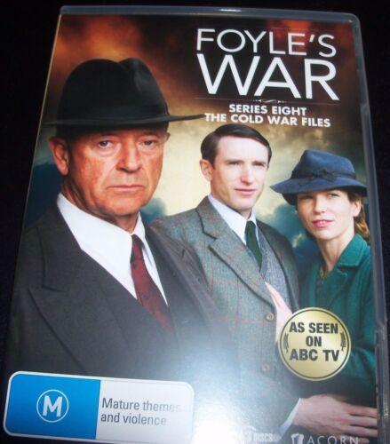 1 of 1 - Foyle's War Series 8 Eight The Cold War Files (Aust Region 4) DVD – Like New
