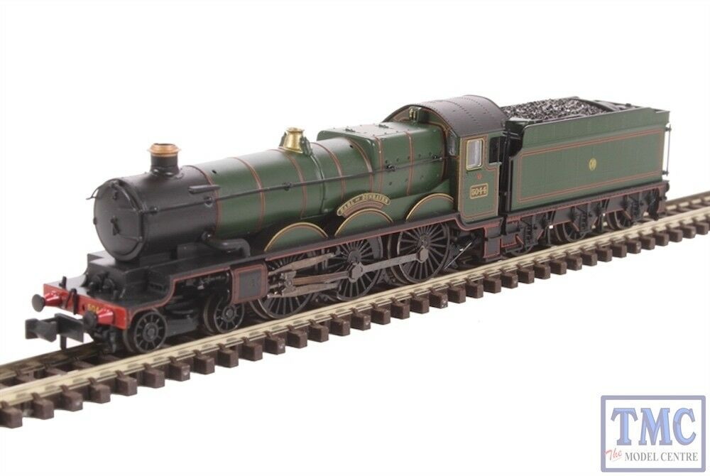 372-030 Graham Farish N Gauge Castle Class 5044 Earl of Dunraven GWR Lined verde
