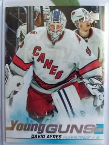 DAVID-AYRES-SP-YOUNG-GUNS-RC-2019-20-UD-SP-AUTHENTIC-ROOKIE-CARD-HURRICANES-5
