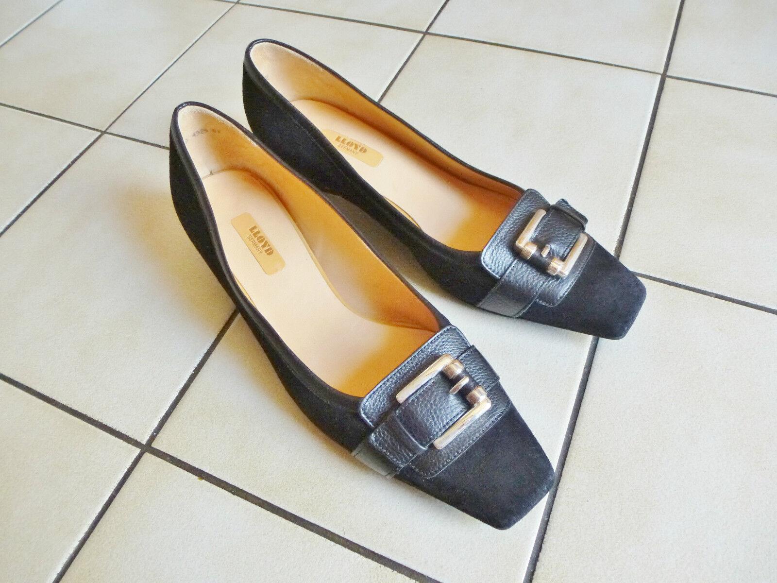 Schöne Schöne Schöne LLOYD Schuhe Halbschuhe Pumps LEDER Gr.4,5 schwarz 522ffe
