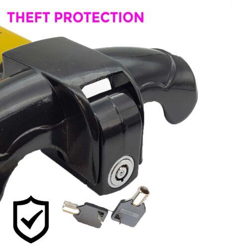 Steering Wheel Armoured Bar Car Lock U Shaped Anti Theft Security Van Steel