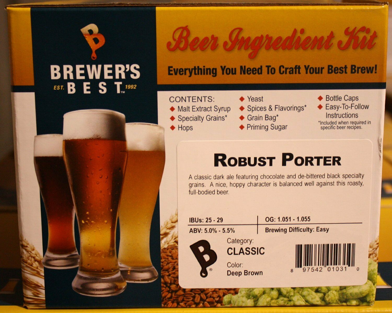 s l1600 Robust Porter Ingredient Kit for Home Brew Beer Making