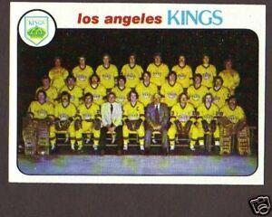 1978-79-Topps-Hockey-Los-Angeles-Kings-Team-198-NM-MT