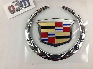 """1999 2000 Cadillac Escalade Driver or Passenger Front Door /""""CADILLAC/"""" Emblem OEM"""