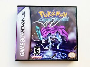 Pokemon-Liquid-Crystal-Nintendo-GBA-Gameboy-Advance-v3-3-00512-USA-Seller