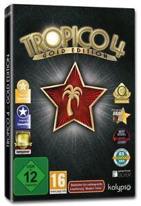 Tropico-4-Dore-PC-NEUF-emballage-d-039-origine