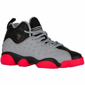7f7b9a198a55 Air Jordan Jumpman Team 2 Youth Shoes Size 7y AJ13 Throwback Wolf ...