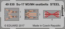 EDUARD 49830 Seatbelts STEEL for KittyHawk Kit Su-17M3/M4 in 1:48