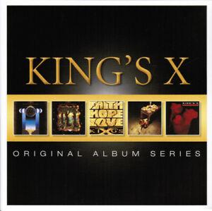 KING-039-S-X-Original-Album-Series-2013-Reissue-5xCD-set-NEW-SEALED