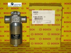 BMW X3 Bosch Fuel Injection Idle Air Control Valve 0280140545 13411744713 New