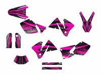 Ktm Exc 125 250 450 525 Graphics 2001 2002 Custom Sticker Kit 3333 Hot Pink