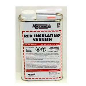 MG Chemicals 4228-1L Red GLPT Insulating Varnish 1 Liter Bottle