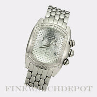 Authentic Techno Master Men's Stainless Steel Watch TM2063