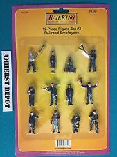 Workmen O Scale 12-Piece Figure Set #3 MTH 30-11044