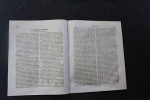 1855 Bauzeitung Rapport Technique 265/gare Minden 2 Pages-afficher Le Titre D'origine