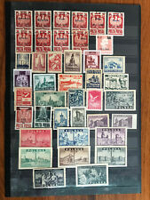 Poland 1945 Complete Year Set. 41 Mint Stamps. MNH**